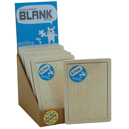 Pocket Money Collection - I'm Just A Bit Blank - Wooden Puzzle