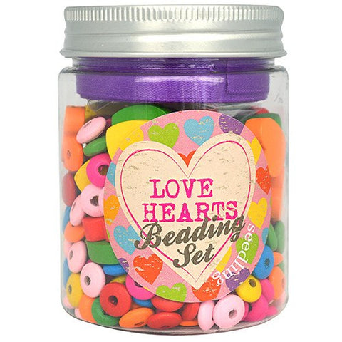 Love Hearts Beading Set