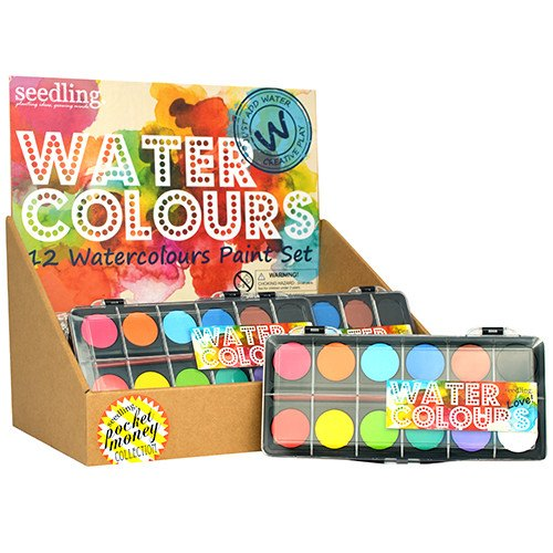 Pocket Money Collection - Love! Water Colors