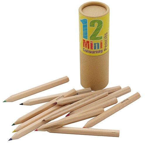 Pocket Money Collection - Mini 12 Colored Pencils