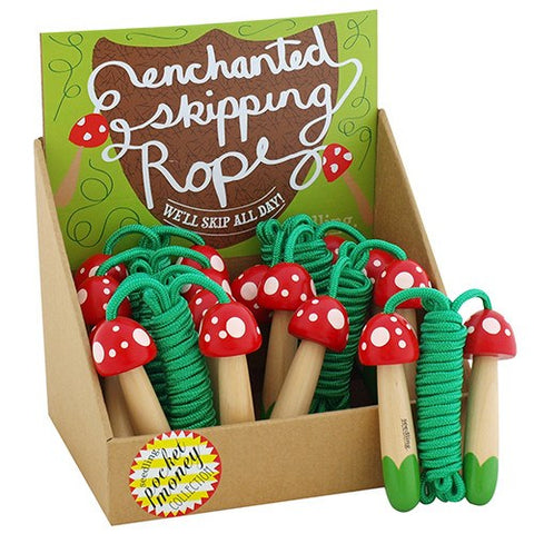 Mini Mushrooms Skipping Rope