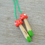 Pocket Money Collection - Mini Mushrooms Skipping Rope
