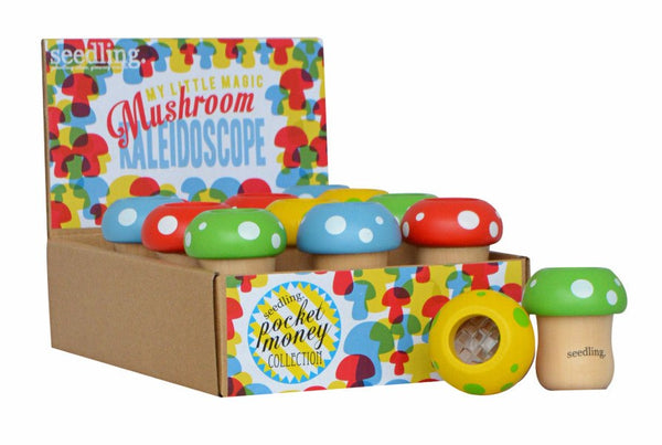 Pocket Money Collection - Mushroom Kaleidoscope Viewer