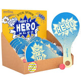 Pocket Money Collection - Official Superhero Paddle Ball