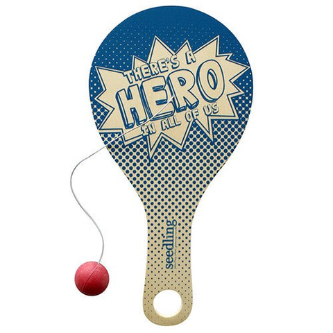 Official Superhero Paddle Ball