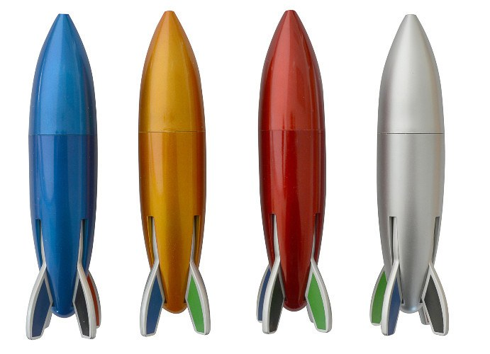 Pocket Money Collection - Rocket 4 Color Pens