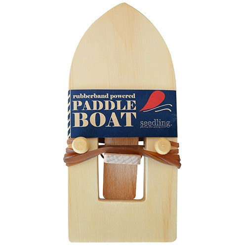 Pocket Money Collection - Rubberband Powered Paddle Boat