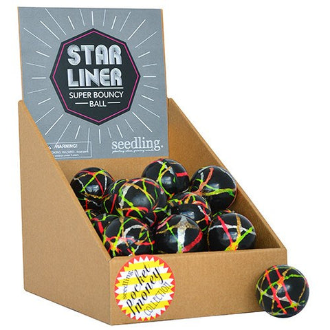 Star Liner Graphic Super Bounce Ball