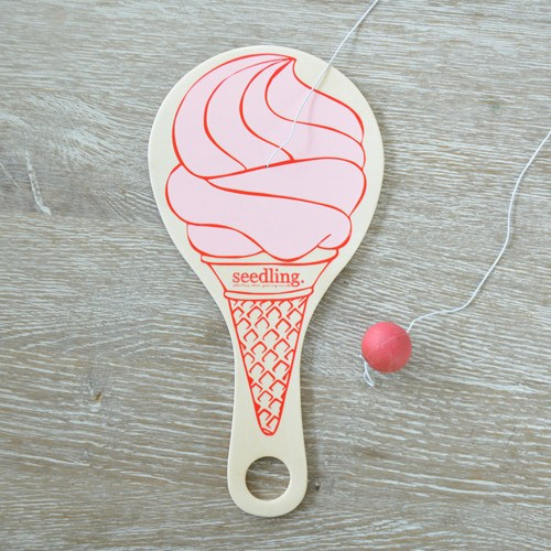 Pocket Money Collection - We All Scream For Ice Cream Paddle Ball