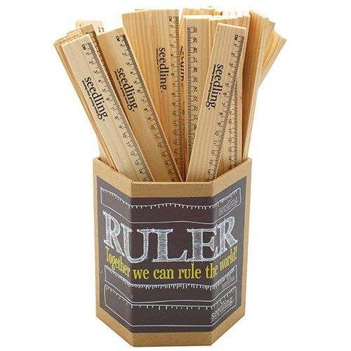 Pocket Money Collection - Wooden Ruler
