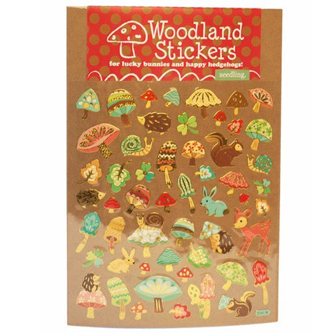Woodland Stickers