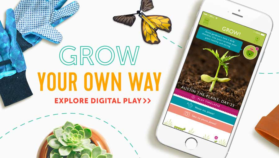 Seedling App - Grow your own way