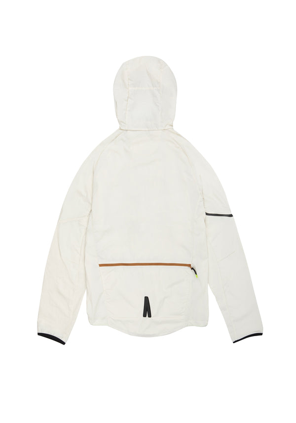Autochtonae earth basic windbreaker men ecru back