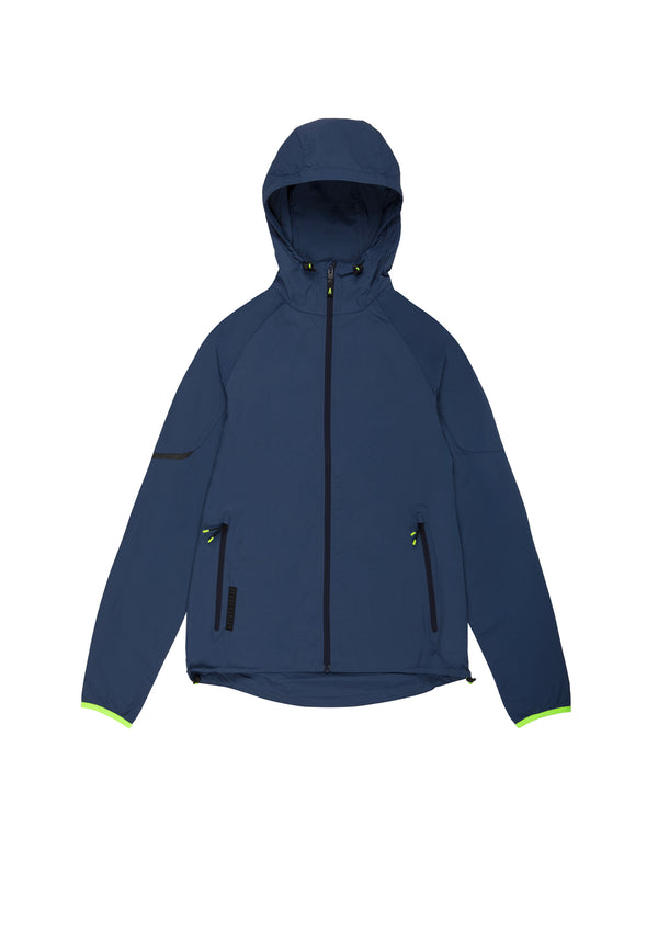 Autochtonae earth basic windbreaker women navy front