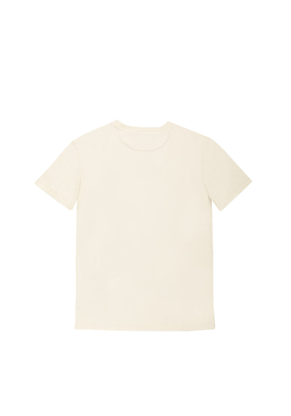 Autochtonae people basic tshirt shortsleeves men ecru back