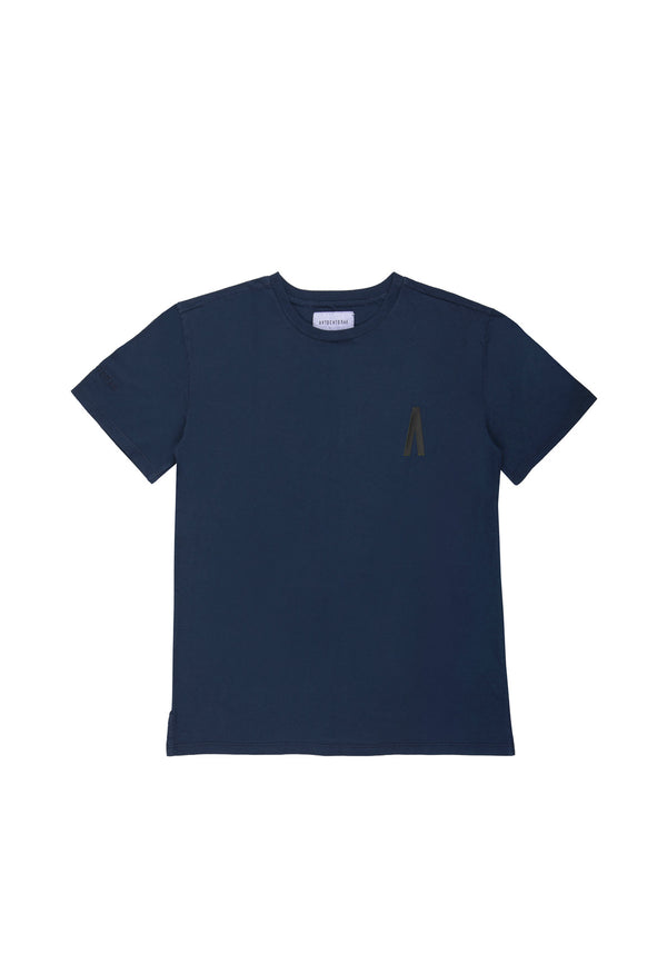 Autochtonae people basic tshirt shortsleeves men navy front