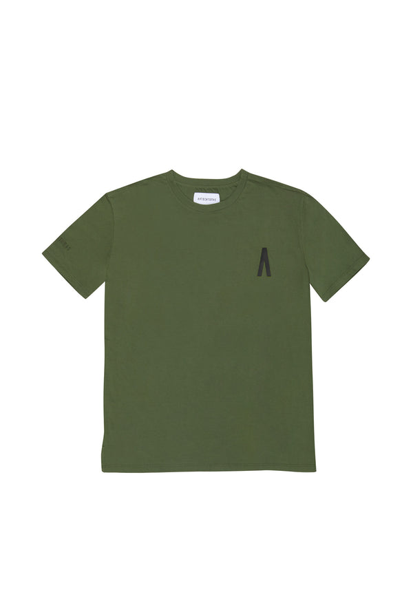 Autochtonae people basic tshirt shortsleeves men olive front