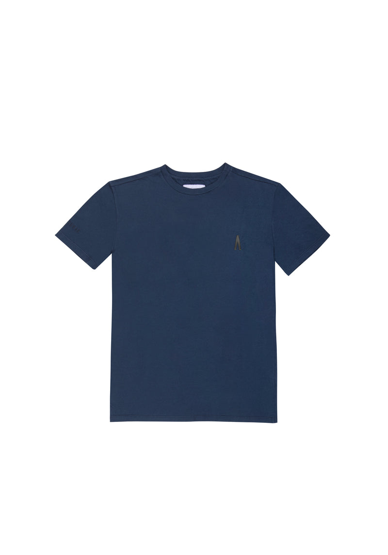 Autochtonae people basic tshirt shortsleeves women navy front
