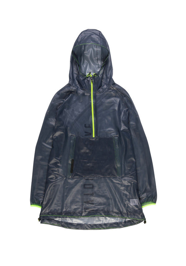Autochtonae people raincoat unisex navy front