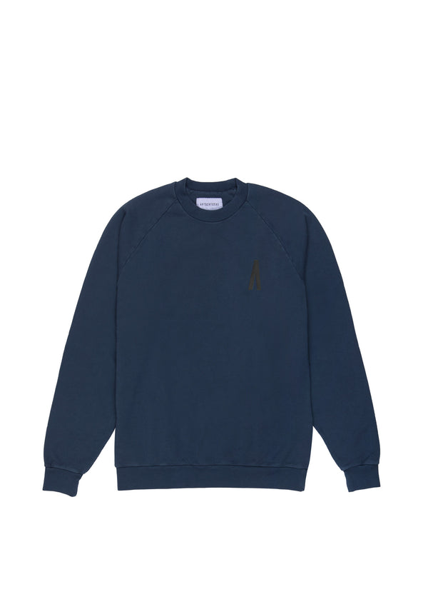 Autochtonae people sweatshirt men navy front