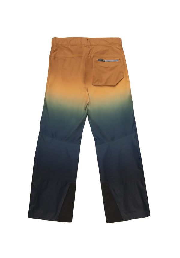 Autochtonae snow gradient pants men blutobacco back