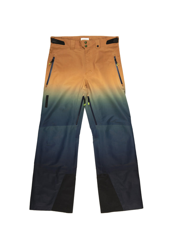 Autochtonae snow gradient pants men blutobacco front
