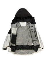 Autochtonae snow jacket women black white lining