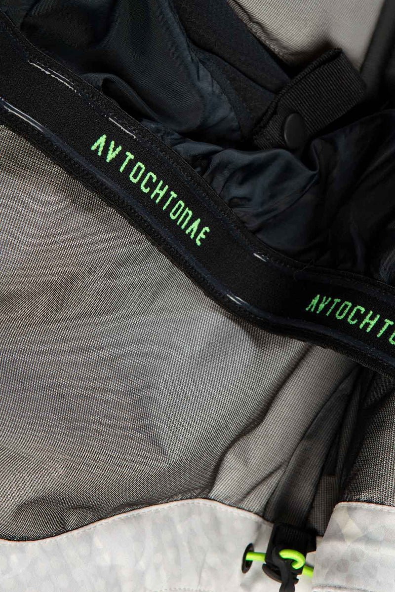 Autochtonae snow jacket women black white logo