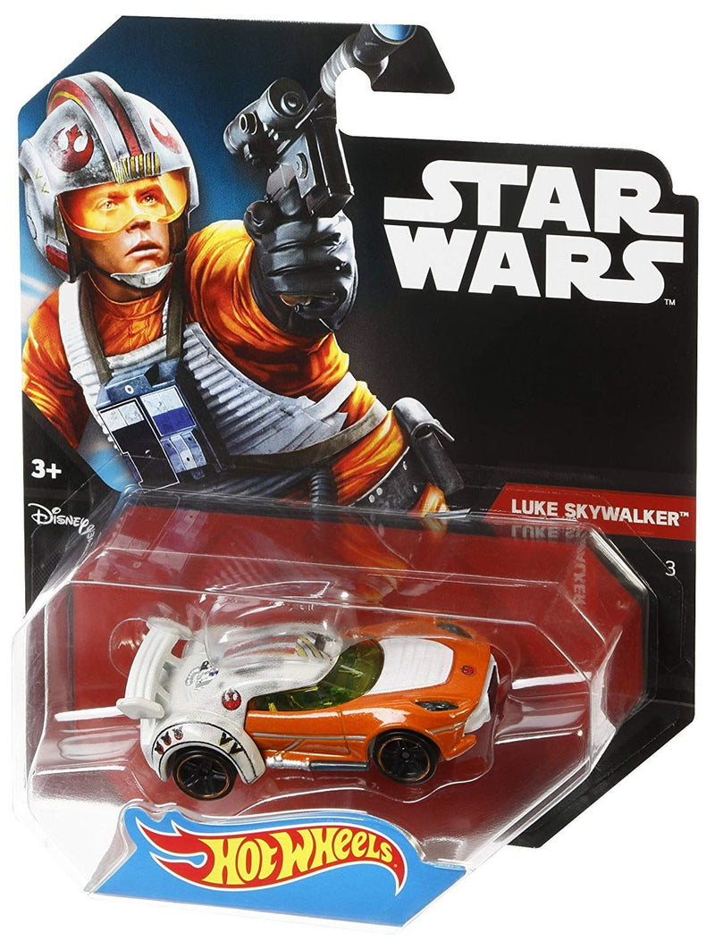 Star Wars Hot Wheels Character Car, Luke Skywalker
