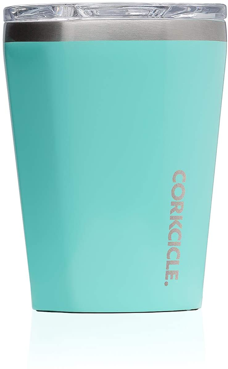 Corkcicle Tumbler 12oz Gloss Turquoise