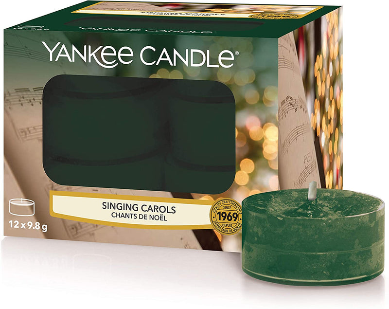 Yankee Candle Classic Tealights Singing Carols