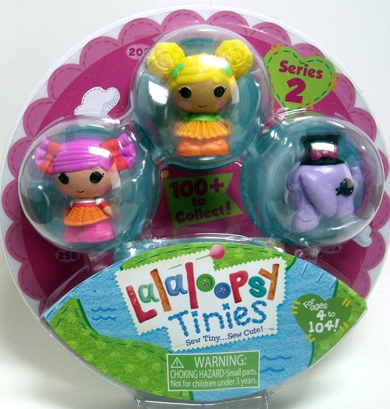 Lalaloopsy Tinies 3 Doll Collection - Pack 4
