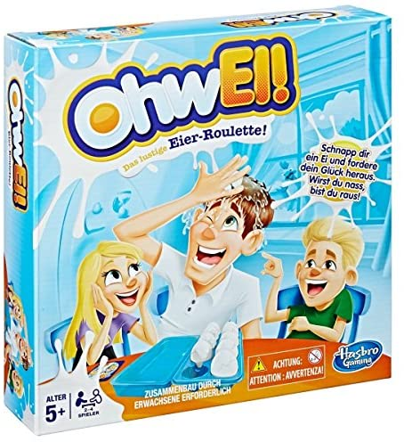 Hasbro Games OhwEi, Egged On Preschool Game