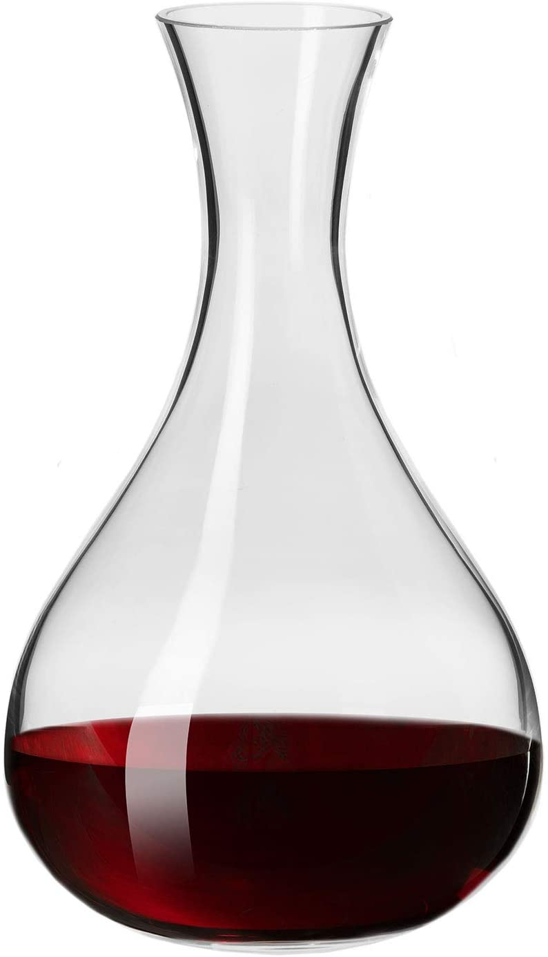 Krosno Red Wine Decanter Carafe Glass | 1.6L | Harmony Collection