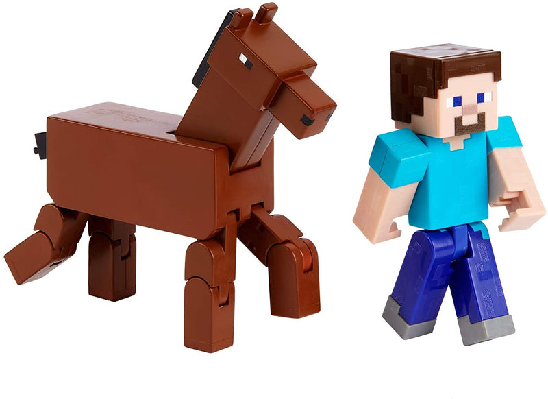 Minecraft Action Figure Collectible Characters, Multi-Colour