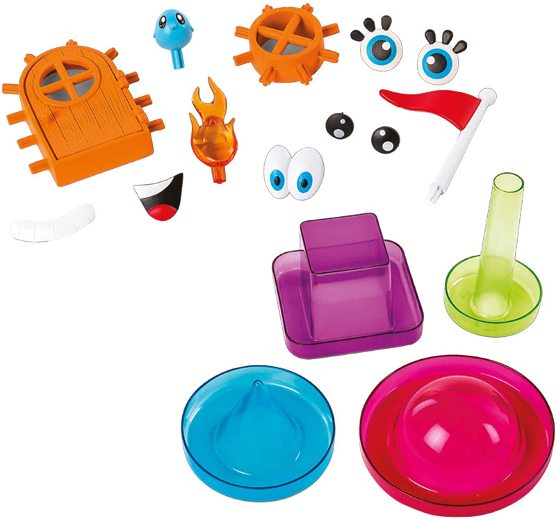 Bunchems Bunch'n Build Activity Kit with 4 Shaper Moulds and 400 Bunchems Bring Your Creations To Life, with 12 Accessories (Styles Vary)