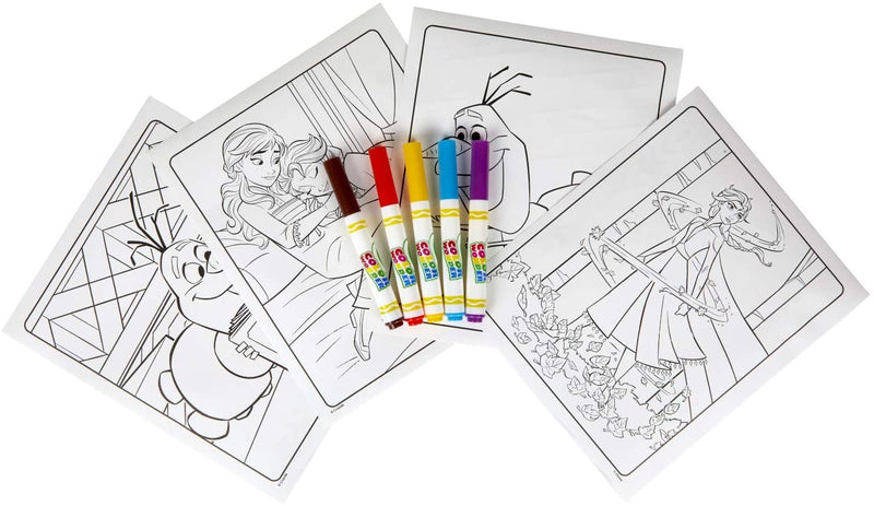 CRAYOLA FROZEN 2 COLOURING PAGES PK18