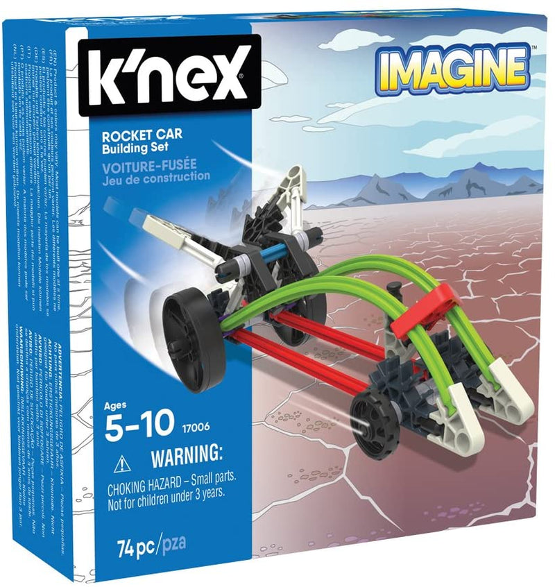 K-NEX - Rocket Car Building, 74 piece Set, Starter Kit