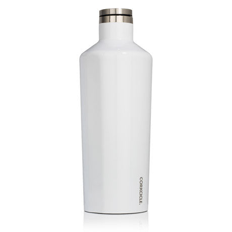 Corkcicle Canteen 60oz Gloss White