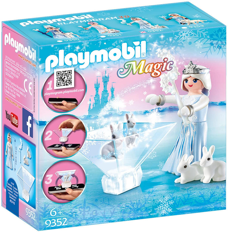 Playmobil Magic Playmogram 3D Star Shimmer Princess, 3D Hologram Game