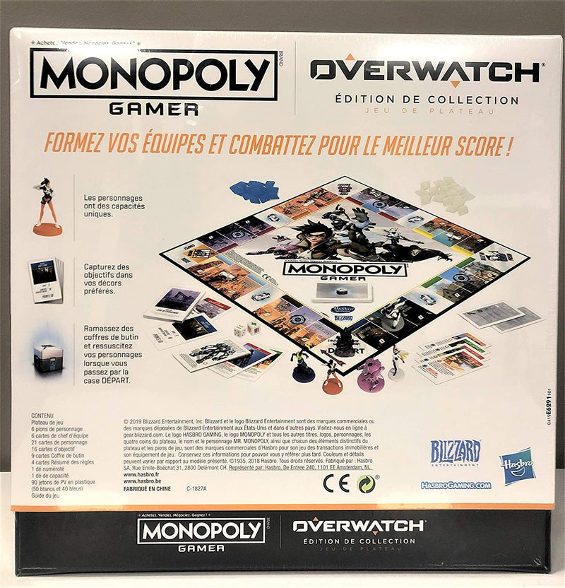 Monopoly Gamer Overwatch (FRENCH LANGUAGE)