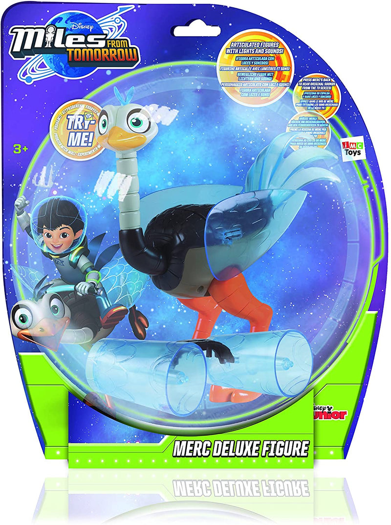 Disney Miles Merc Deluxe Action Figure From Tomorrow Deluxe - Merc with Light &
