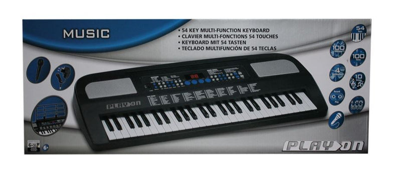 play on electronic keyboard 54 keys