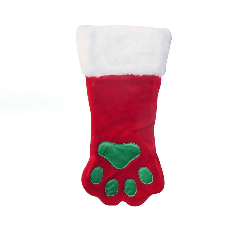 Outward Hound Kyjen Christmas Paw Dog Stocking Holiday and Christmas Accessories For Dogs, Large