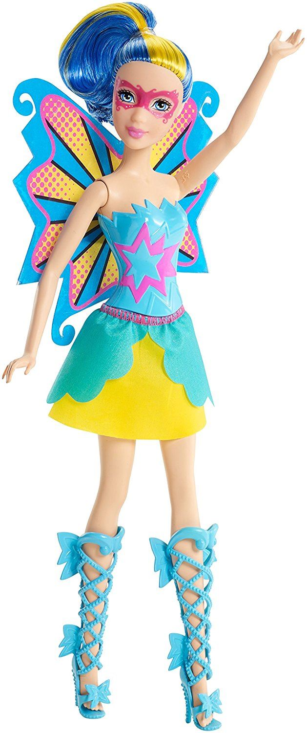 Barbie Princess Power Hero Doll - Abby  blue