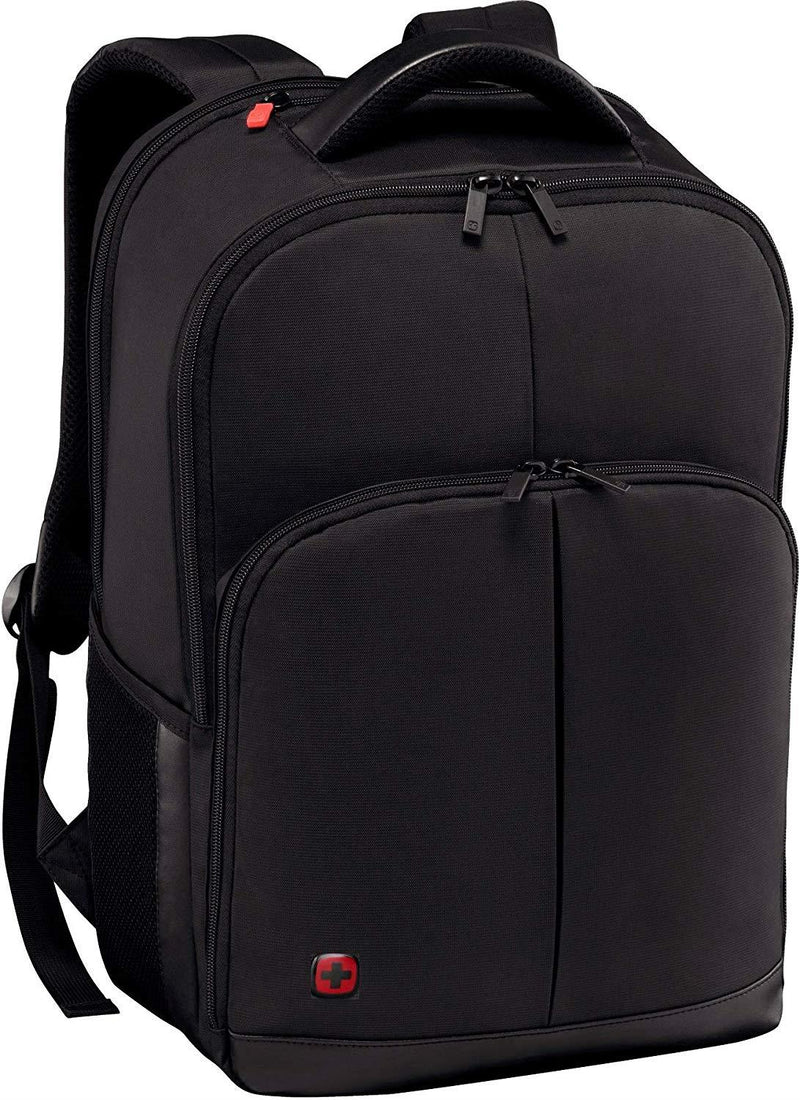 "Wenger 601072 LINK 16"" Laptop Backpack , Padded laptop compartment with iPad/Tablet / eReader Pocket in Black {21 Litres}"