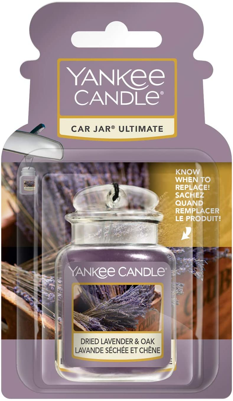 Yankee Candle Car Jar Ultimate Dried Lavender And Oak Farmers' Market Collection