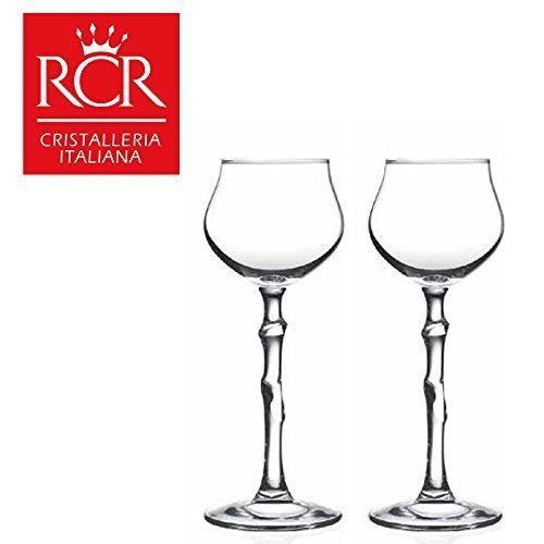 RCR Calice 5 Liqueur Goblet Set Of 2
