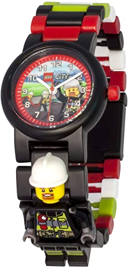 Lego Kids Analogue Quartz Watch with Plastic Strap