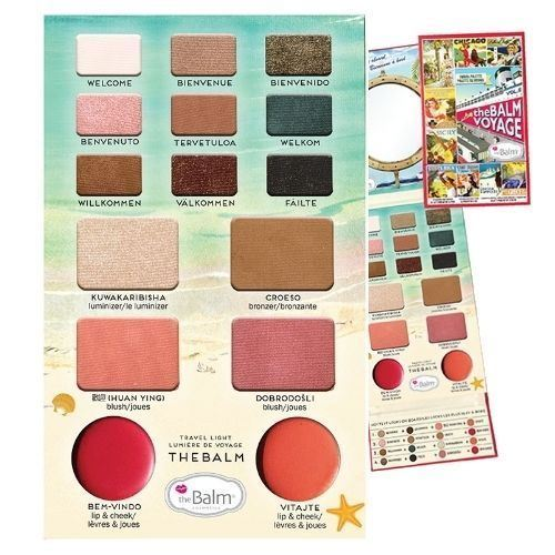 theBalm Cosmetics Balm Voyage 2 Travel Friendly Face Palette